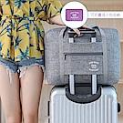 E.City_新款大容量防潑水牛津布旅行折疊拉桿袋