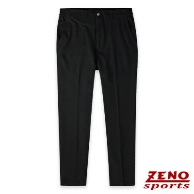 ZENO 極速快乾四面彈輕量黑色長褲-二款