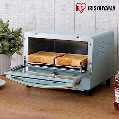 日本Iris Ohyama ricopa 經典烤箱-珊瑚藍