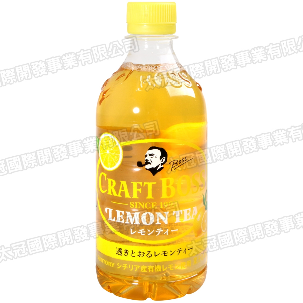 SUNTORY Craft 工匠檸檬茶飲料(450ml)