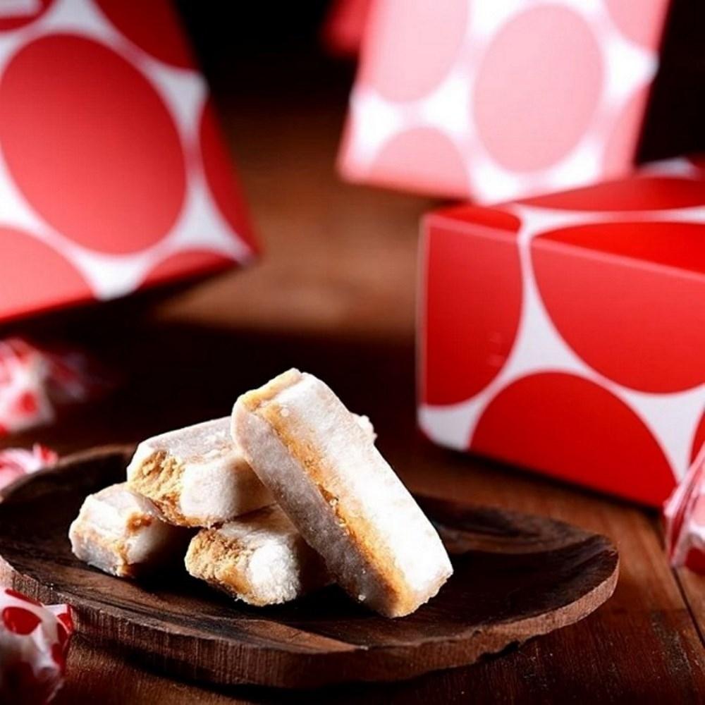 紅豆食府 糖果禮盒(原味娃娃酥2+花生牛軋糖1)
