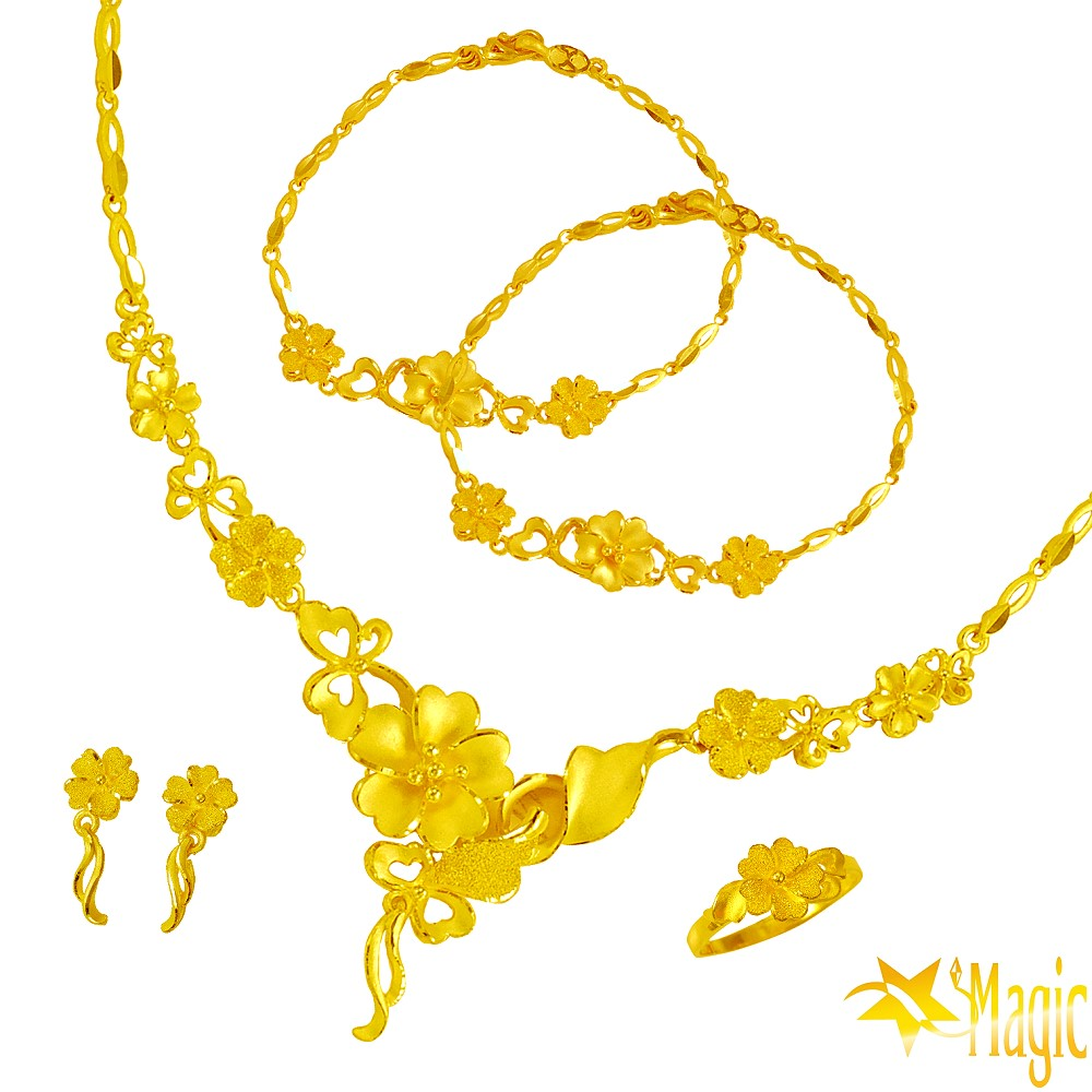 Magic魔法金-純真黃金套組 (約10.96錢)