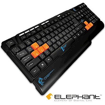 ELEPHANT龍戰系列 雷達電競多媒體鍵盤(GK003)
