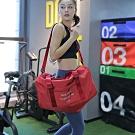 E.City_(2入)韓版可肩背旅行拉桿袋運動萬用袋