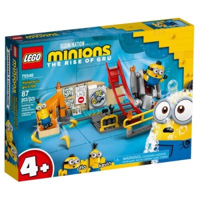 樂高 LEGO 小小兵系列 - LT75546 Minions in Gru s Lab