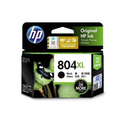 HP 804XL T6N12AA  黑色 高容量 原廠墨水匣 適用HP ENVY Photo 6222/HP Tango/Tango X