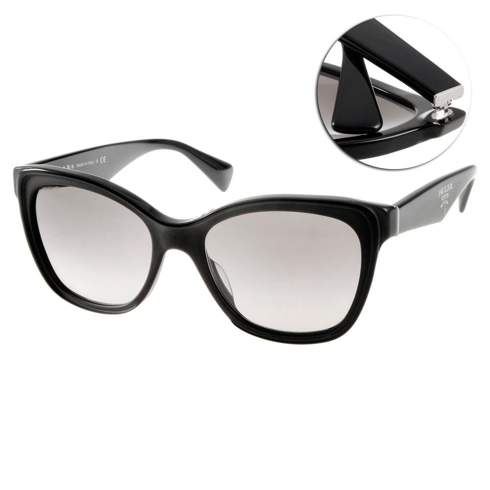 PRADA太陽眼鏡 歐美時尚/黑#SPR20PA 1AB0A7