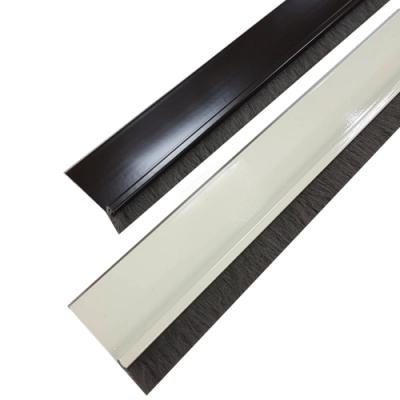 DO110 長110cm 軟毛刷鋁擠型 門縫條/門底縫擋條/氣密條/刷毛防塵條