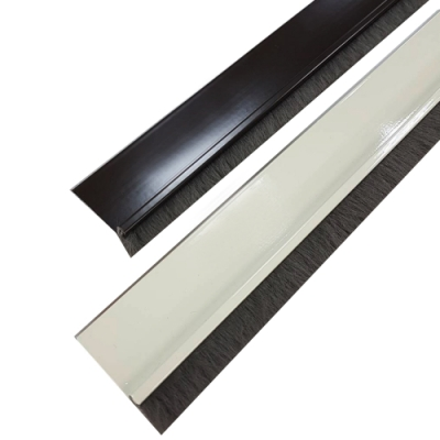 DO130 長130cm 軟毛刷鋁擠型門縫條/門底氣密條/刷毛防塵條