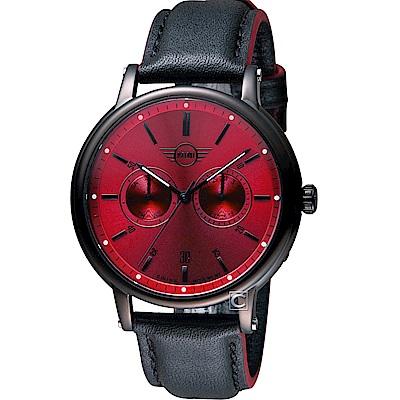 MINI Swiss Watches英式經典腕錶(MINI-160627)-紅
