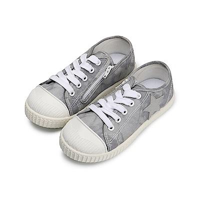 BuyGlasses 一顆大星星兒童休閒鞋-灰