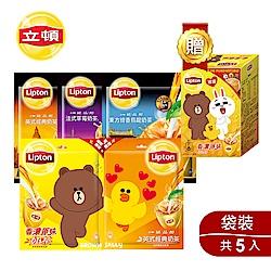 立頓 奶茶系列5袋組