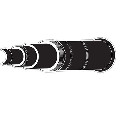MB Spy 窺視孔裝飾貼紙(望遠鏡)