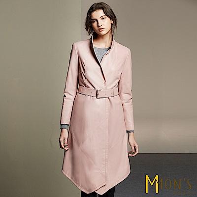 MONS 設計師剪裁羊皮大衣/外套