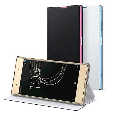 Sony Xperia XA1 Plus G3426原廠側翻式時尚保護套 SCSG70