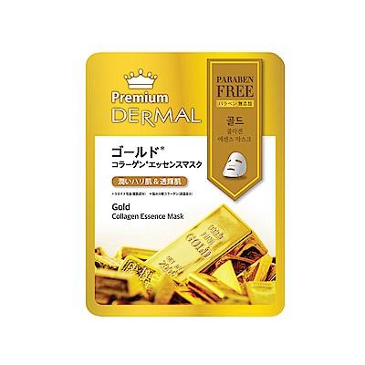 DERMAL德瑪 頂級黃金膠原蛋白逆齡面膜25g