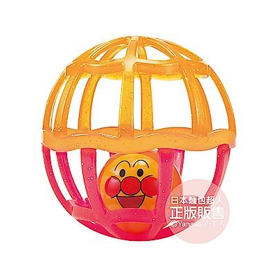 麵包超人-附吊帶嬰兒搖搖球中球(菊粉配色)