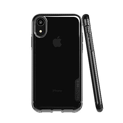 Tech21 英國超衝擊 PURE TINT iPhone XR 防撞硬式保護殼-透黑