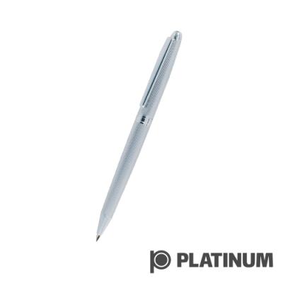 PLATINUM白金 原子筆 | 日系 直紋鍍銀  BAG-500