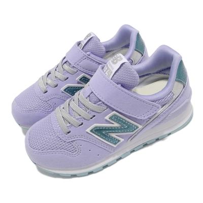 New Balance 休閒鞋 996 W Wide 寬楦 童鞋 紐巴倫 魔鬼氈 N字鞋 麂皮 中童 紫 藍 YV996ULVW