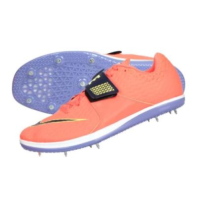 NIKE HIGH JUMP ELITE 男田徑跳高鞋-附鞋袋 訓練 競賽 806561800 亮橘紫綠