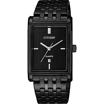 CITIZEN 星辰 極簡設計石英錶-黑/25mm(BH3005-56E)