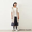 MOSS CLUB INLook 薄針織長版背心(3色)