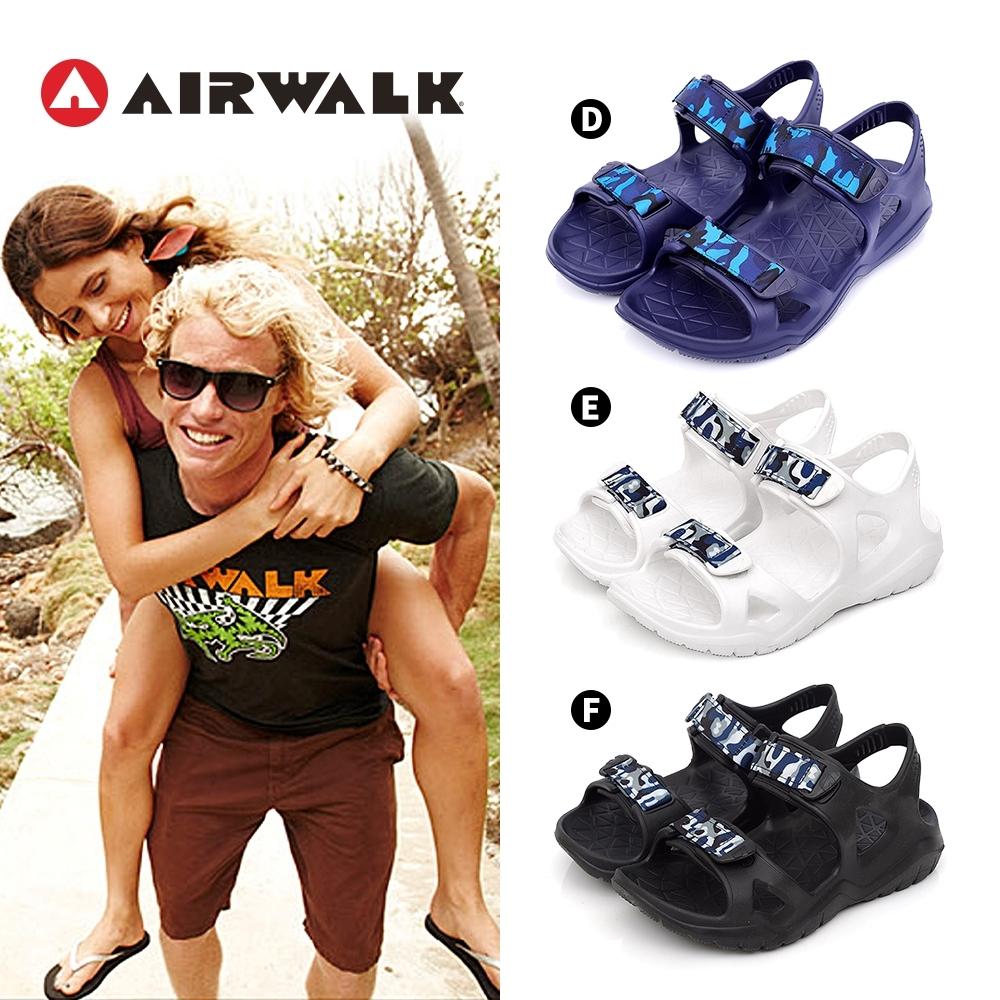 AIRWALK AB PLUS 防水輕量涼鞋-六款任選