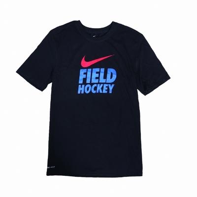 Nike T恤 Field Hockey Tee 男款 運動休閒 吸濕排汗 DRI-FIT 圓領 黑 藍 561416010FHRR