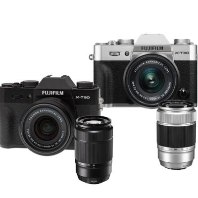 FUJIFILM X-T30+15-45+50-230mm II 雙鏡組*(中文平輸)