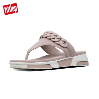 FitFlop HEDA CHAIN TOE THONGS運動風夾腳涼鞋 貂褐色