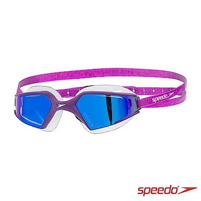 SPEEDO 成人進階泳鏡 Aquapulse Max 2 鏡面 莓紫