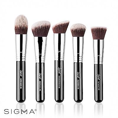 Sigma 專業底妝彩妝刷具5件組 Sigmax Kabuki Brush Kit