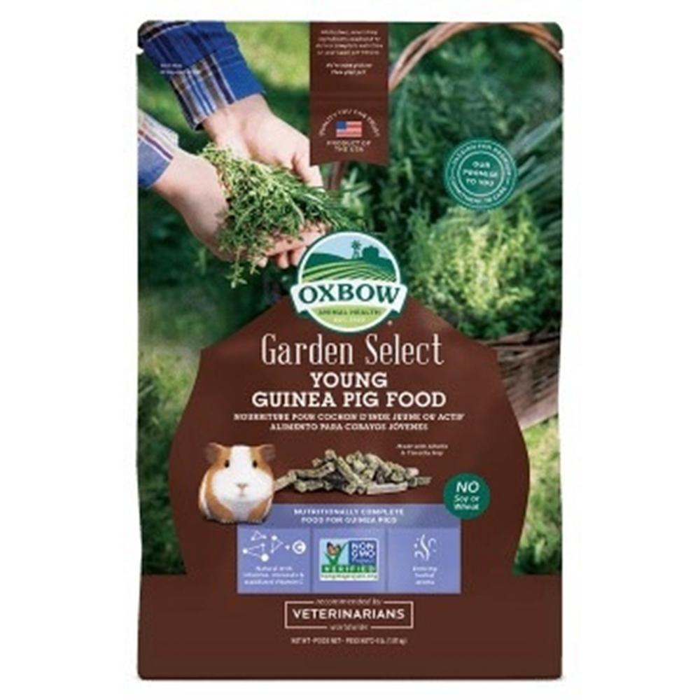 OXBOW-Garden Select YOUNG Guinea Pig FOOD田園精選非基改幼天飼料 4lb(1.81KG) 兩包組