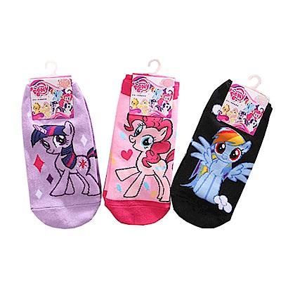 彩虹小馬直版襪(3雙一組) k50583 魔法Baby