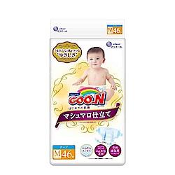 GOO.N日本大王黏貼型紙尿褲(M)46片x3包/箱 珍珠棉柔版