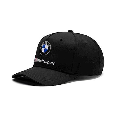 PUMA-男女BMW M MSP棒球帽-黑色