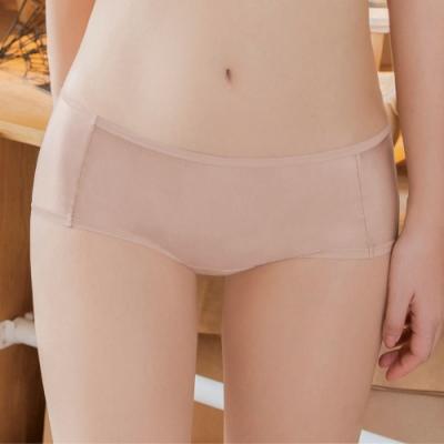 瑪登瑪朵 Soft Up 低腰平口褲(玫瑰膚)