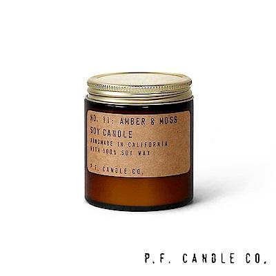 美國 P.F. Candles CO. No.11 琥珀麝香 手工香氛蠟燭 99g