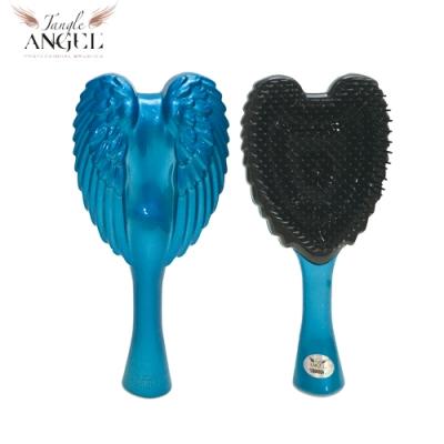 Tangle Angel 英國凱特王妃御用天使梳-土耳其藍14.8cm輕巧版(王妃梳 天使梳 美髮梳 梳子)
