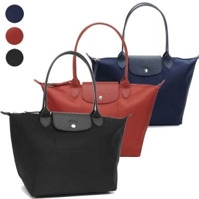 [時時樂限定] Longchamp Le Pliage NEO系列新款厚尼龍長把肩背水餃包