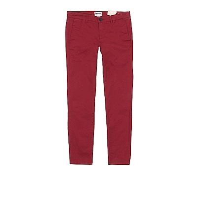 Timberland 女款藏紅Broad Bay 修身版休閒褲 | A1PHRH