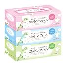 日本大王elleair  棉柔膚觸抽取式面紙 160抽x3盒/串