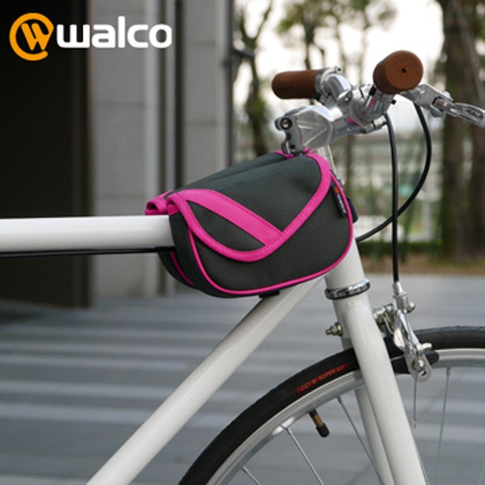 Walco 單車上管小馬鞍包-粉紅款