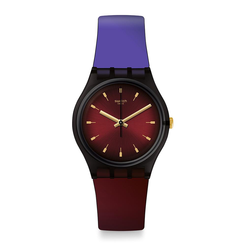 Swatch Deep Wonder系列 PUREPURPLE迷紫漸層手錶