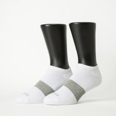 Footer除臭襪-時光秘徑運動船短襪-六雙入(白*6)