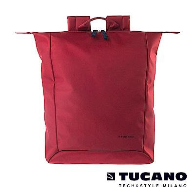 TUCANO SMILZO 13-14吋大開口兩用輕巧後背包 -紅色