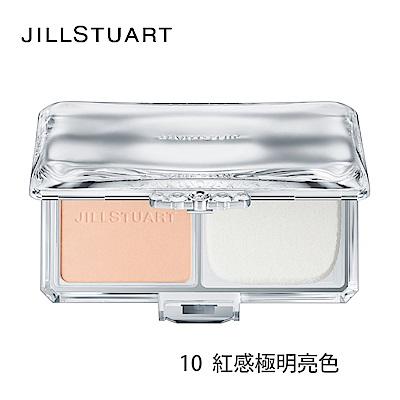 JILL STUART雪紡無瑕柔霧粉餅+粉盒+粉撲
