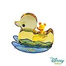 Disney迪士尼系列金飾 小鴨水晶擺件-黃金米奇款