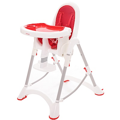 myheart 折疊式兒童安全餐椅 加贈 ACE聖誕巡禮月曆禮盒